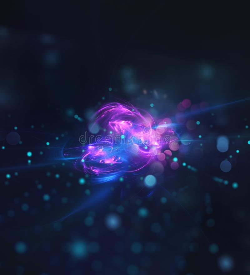 Abstract internet connection network background with motion effects. Futuristic abstract internet connection network background with motion effects vector illustration