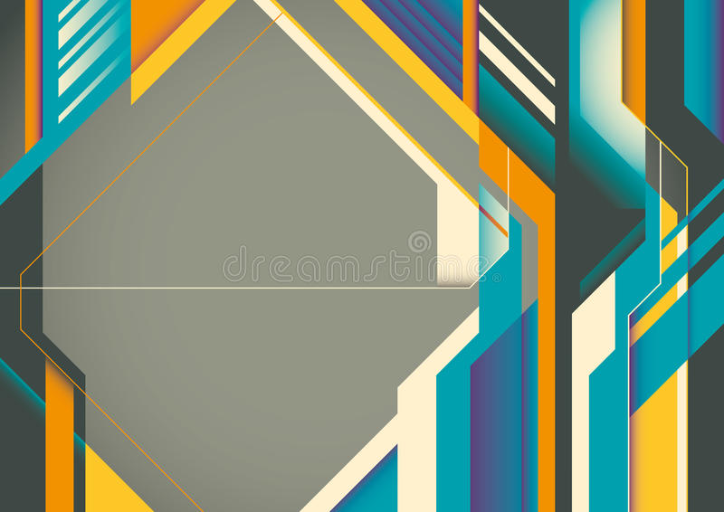 Download Futuristic Abstract Poster. Stock Images - Image: 22465604