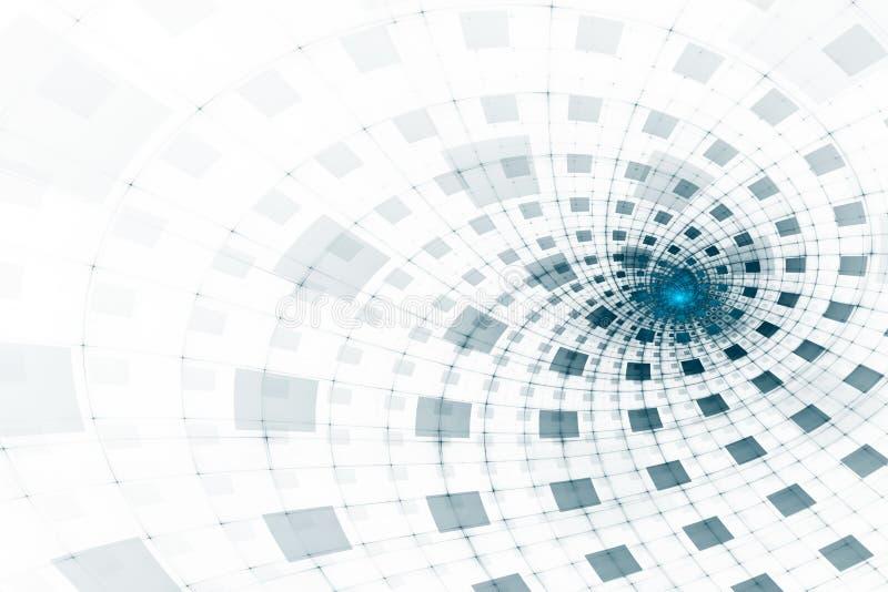 futuristic abstrakt bakgrund stock illustrationer