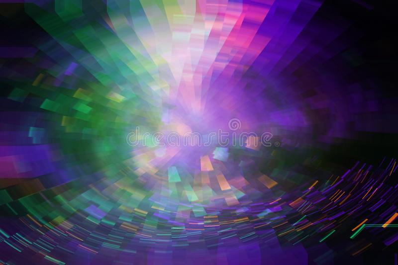 Futuristic background of the 80s retro style. Digital or Cyber Surface. neon lights and geometric pattern , test screen glitch. vector illustration
