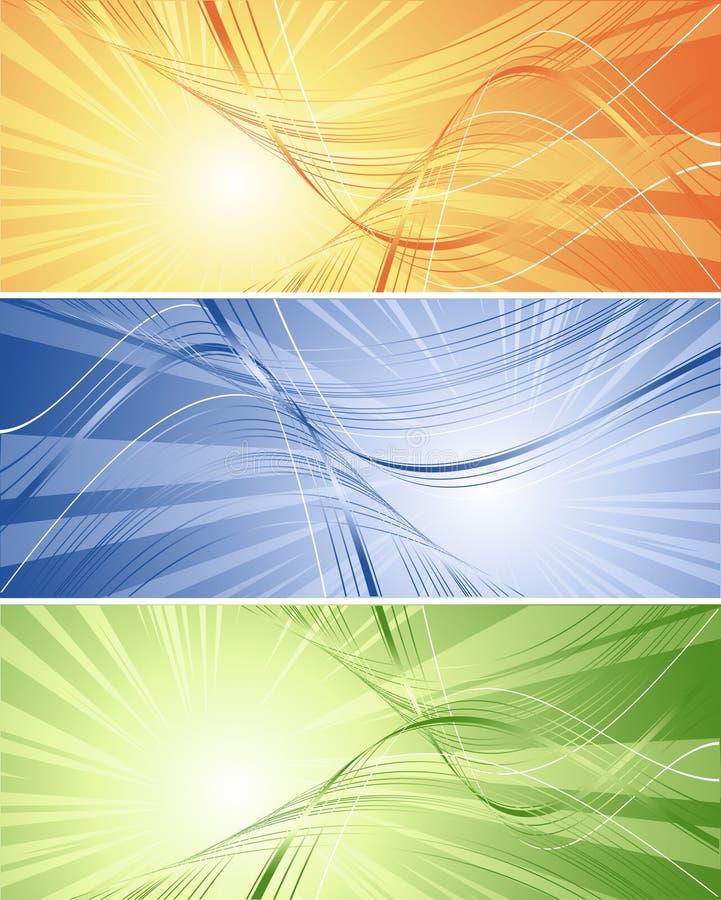 Futuristic backgrounds vector illustration
