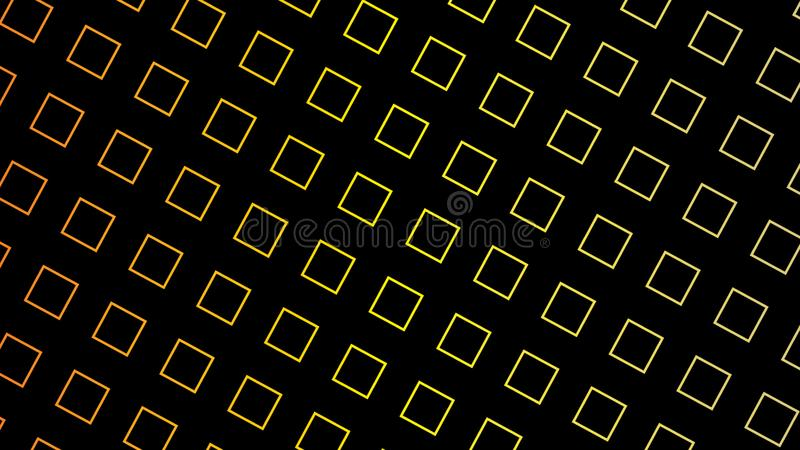 Futuristic black with orange yellow square geometric abstract background vector. Futuristic black with orange yellow squares geometric abstract background vector stock photos