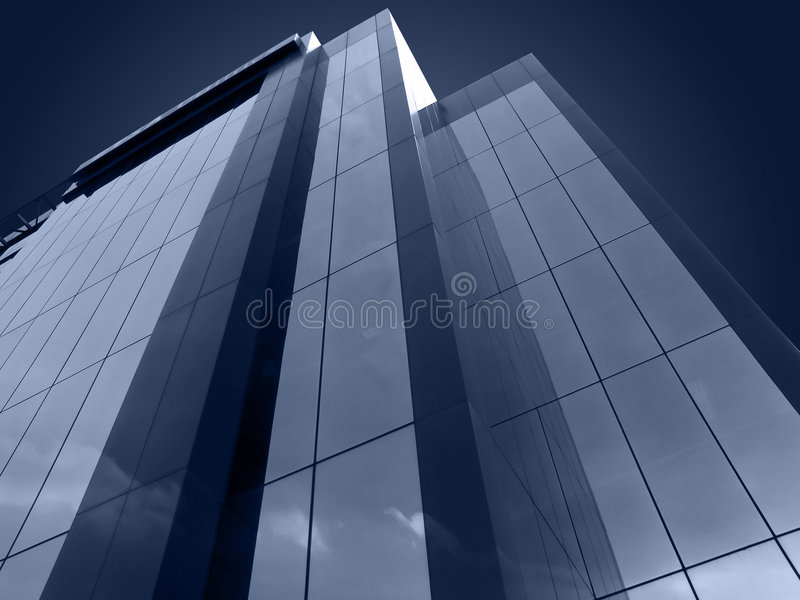 Futuristic Building royalty free stock images