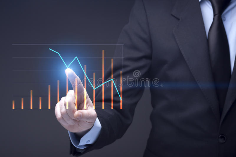 Futuristic Business stock image