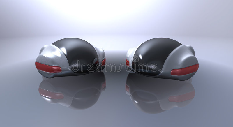 Futuristic Concept Car Royalty Free Stock Image