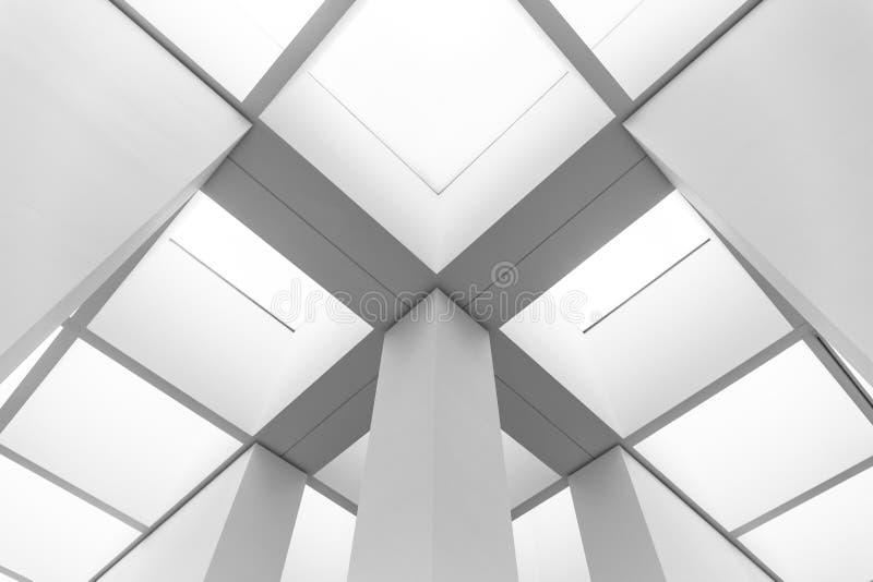 Futuristic construction stock image