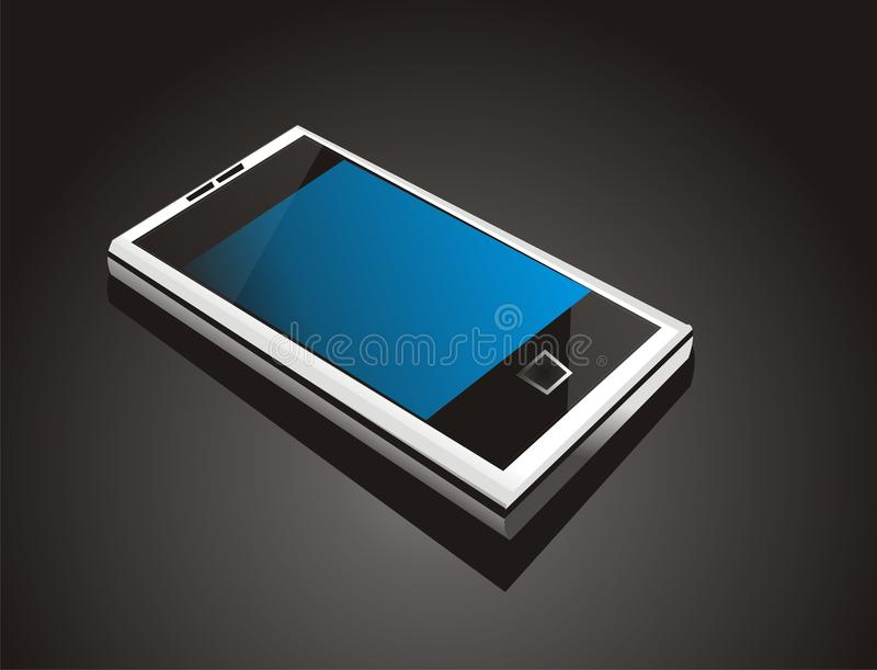 Futuristic cool  mobile phone