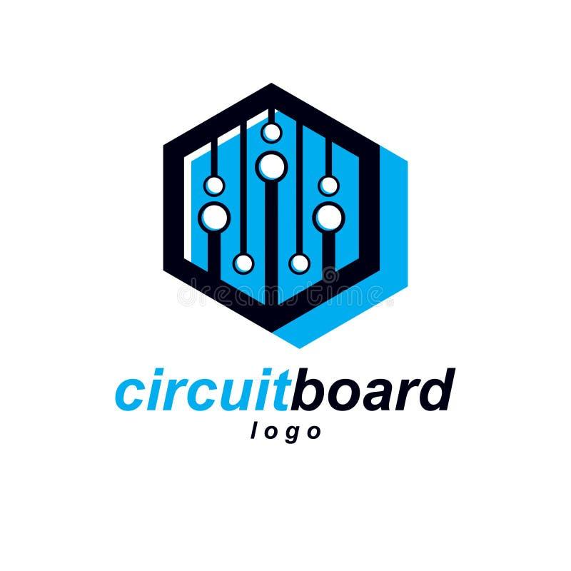 Futuristic Cybernetic Vector Motherboard. Digital Element, Circu ...