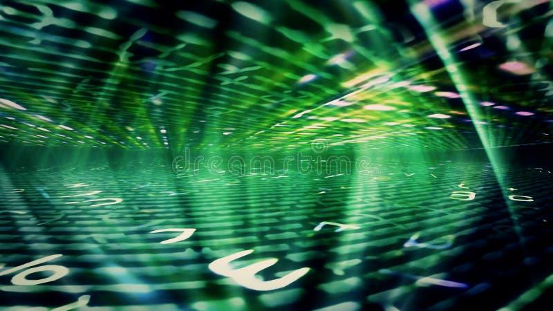 Futuristic Digital Light Technology 10972. Conceptual futuristic technology digital light abstraction. High resolution illustration 10972 stock image