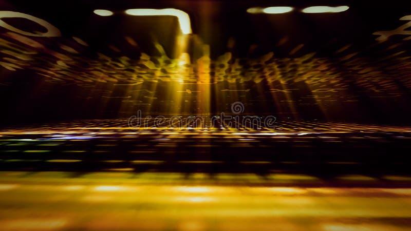 Futuristic Digital Light Technology 10980. Conceptual futuristic technology digital light abstraction. High resolution illustration 10980 royalty free stock photo