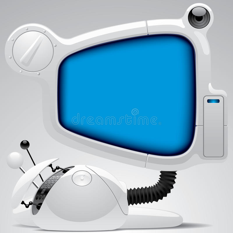 Download Futuristic Electronic Gear Royalty Free Stock Photos - Image: 22832188