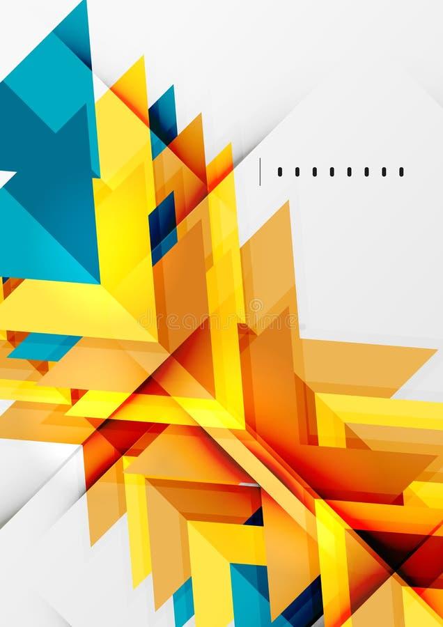 Download Futuristic Geometric Shapes, Minimal Design Stock Vector -  Illustration: 44000428