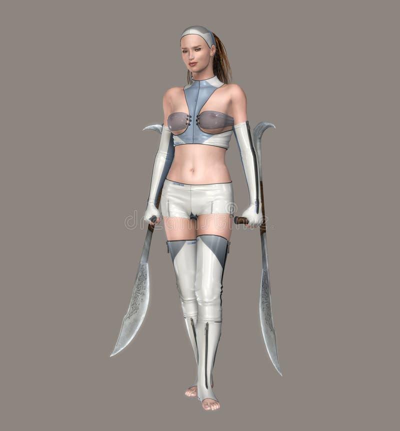 Free Futuristic Girl Stock Images - 3961834