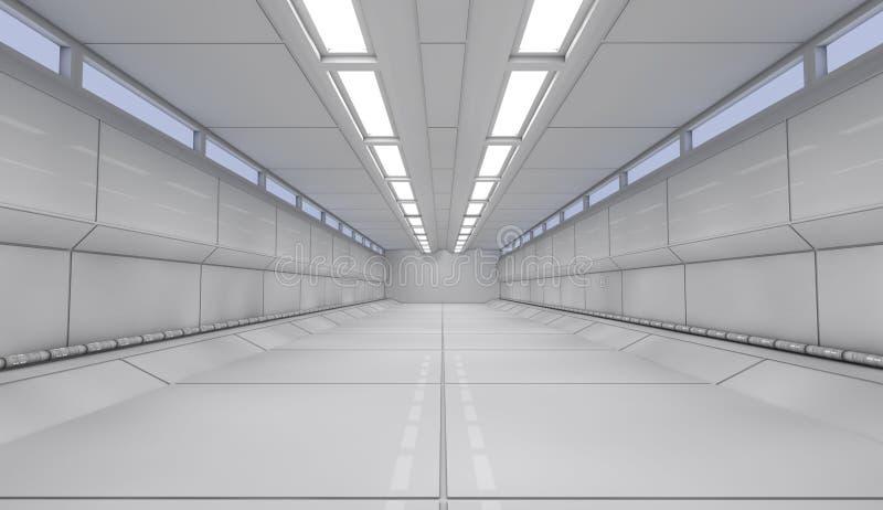 Download Futuristic interior stock illustration. Image of clear - 32075789