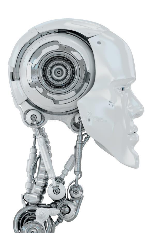 Futuristic man royaltyfri illustrationer