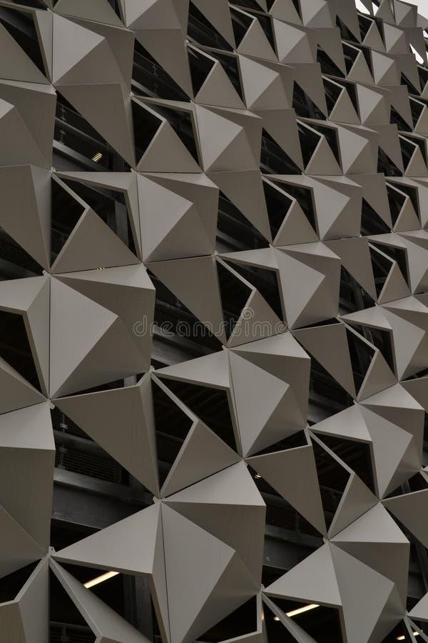 Futuristic Metal Cladding stock photo