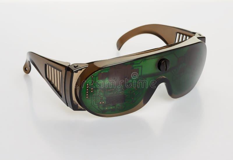 Download Futuristic Microchip Goggles Stock Photo - Image: 28013634