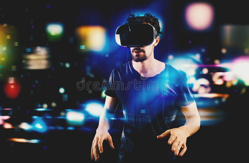 Futuristic multimedia royalty free stock images