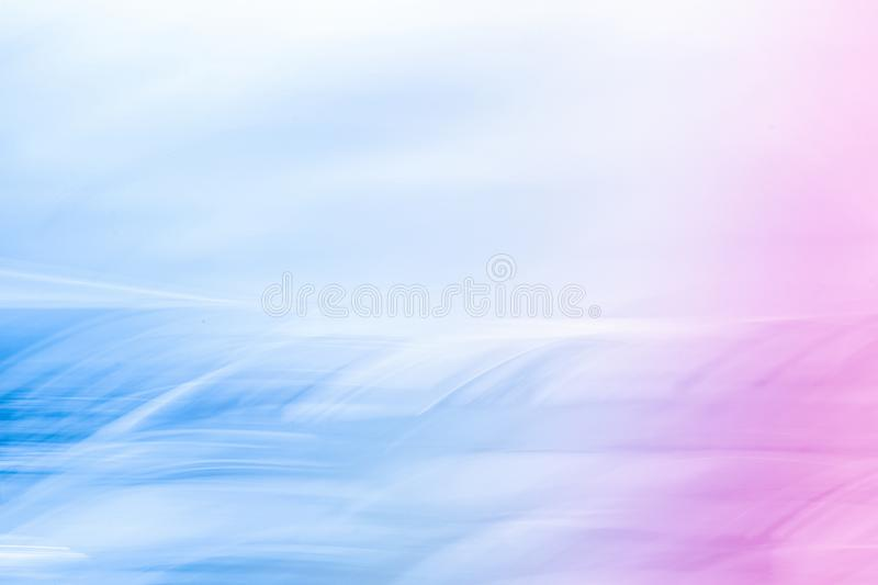The future is now. Futuristic neon design - tech backgrounds, abstract art and modern pastel colours concept. The future is now stock image