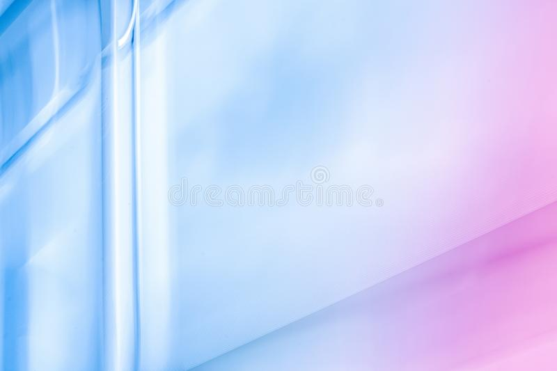 The future is now. Futuristic neon design - tech backgrounds, abstract art and modern pastel colours concept. The future is now stock photo