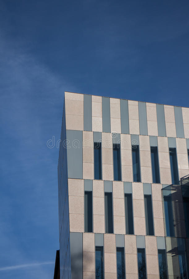 Futuristic office building royalty free stock image