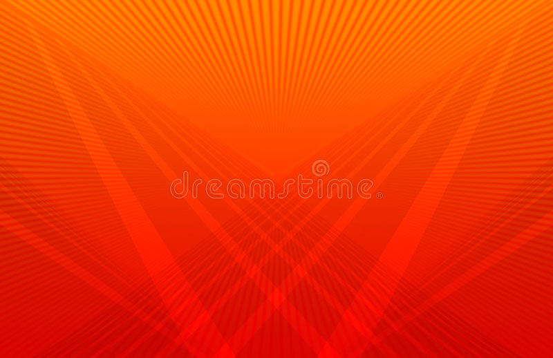 Futuristic Orange Background stock illustration