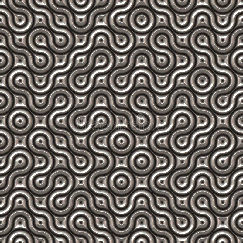 futuristic seamless textur stock illustrationer