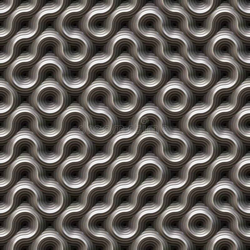 Futuristic seamless texture stock photos