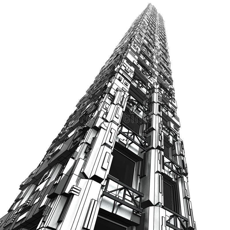 Free Futuristic Skyscraper 1 Royalty Free Stock Photo - 3865905