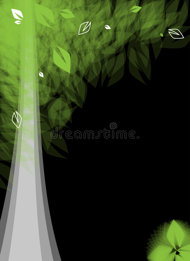 Download Futuristic Stylized Tree With Leafage Stock Image - Image: 25920187