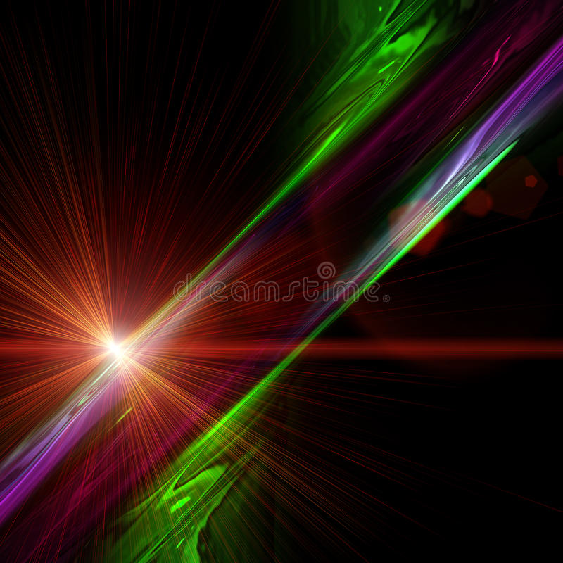Futuristic technology design. Futuristic technology wave background design with lights vector illustration