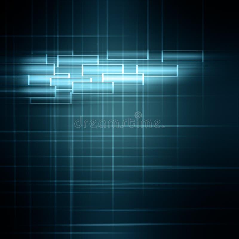 Futuristic teknologibakgrundsdesign vektor illustrationer
