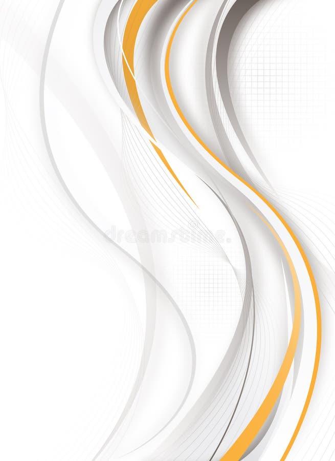 Futuristic vertical design royalty free illustration