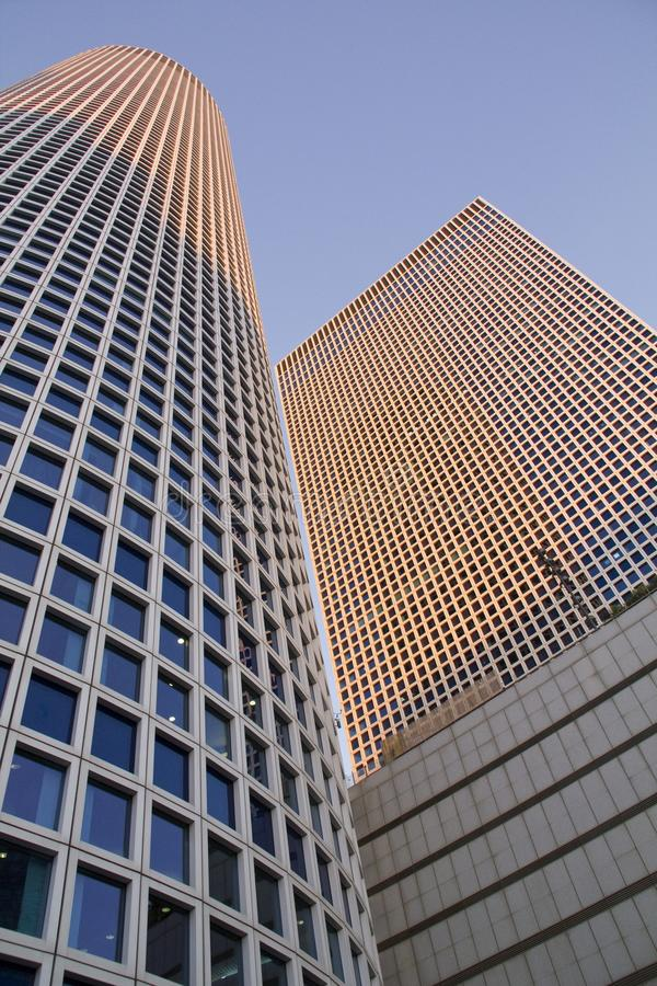 Futuristisch Architectuurfragment stock fotografie