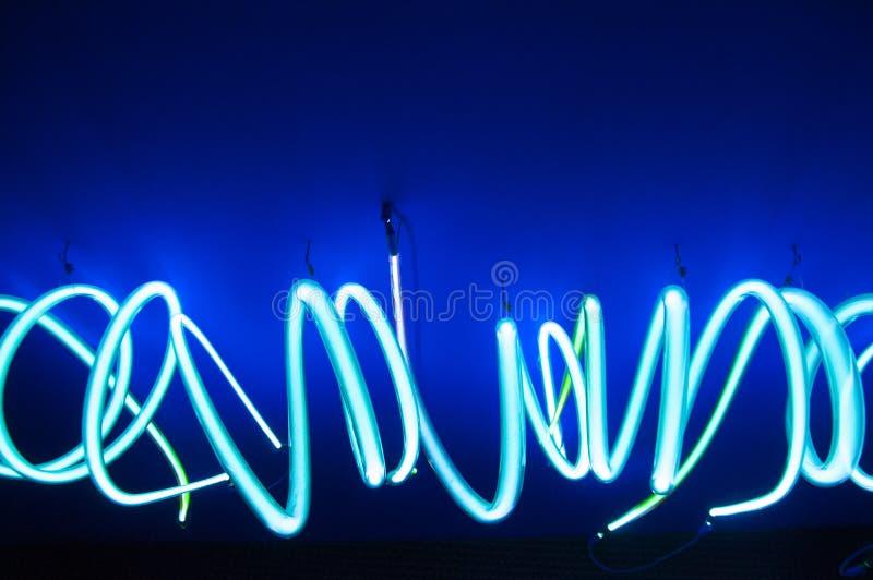 Futuristisch neon stock fotografie