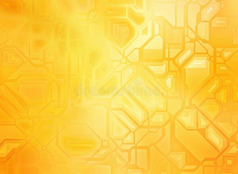 Futuristische abstracte technologie-achtergronden vector illustratie