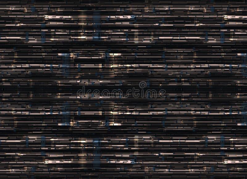 Futuristische abstrakte Hintergründe digitale glatte Beschaffenheit vektor abbildung