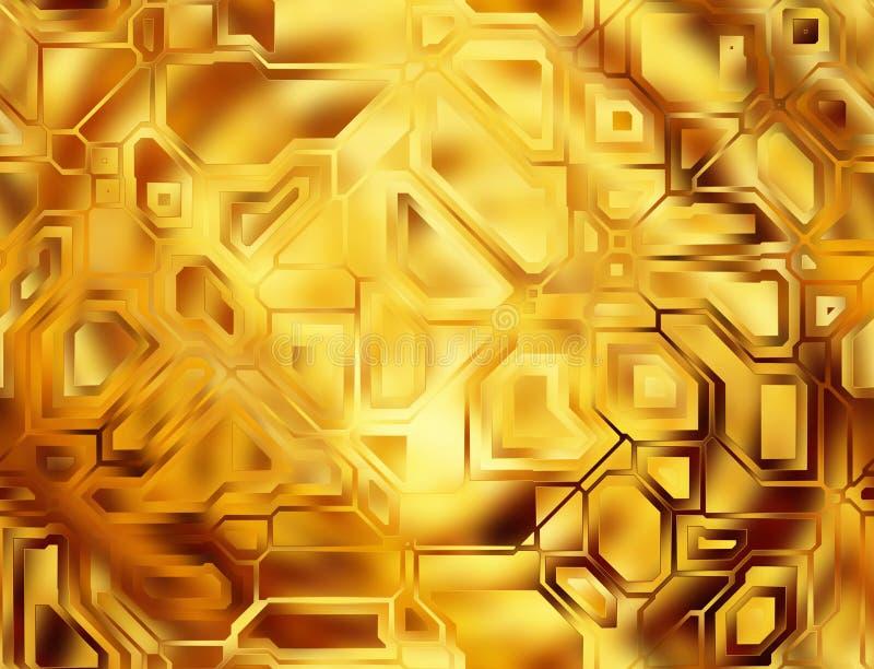 Futuristische abstrakte Technologiehintergründe digitale glatte Beschaffenheit stock abbildung