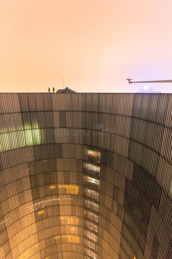 Futuristische architectuur royalty-vrije stock fotografie