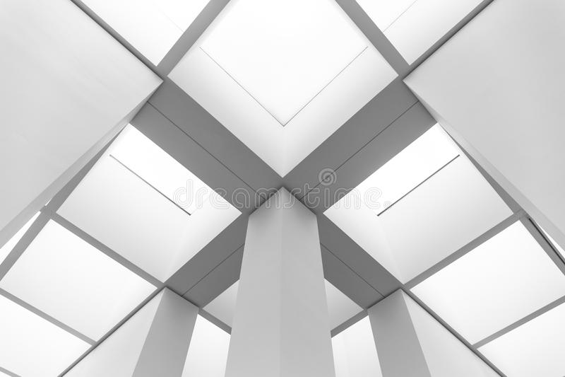 Futuristische bouw stock afbeelding
