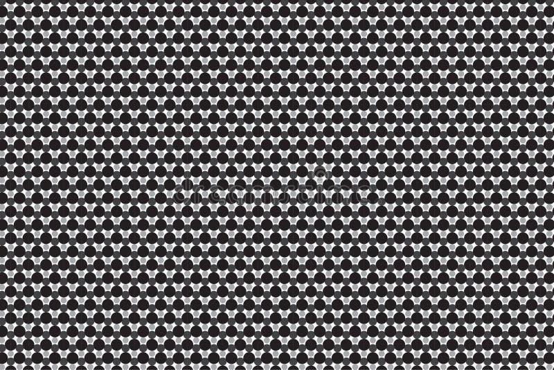 Futuristische 3 D textuur royalty-vrije illustratie