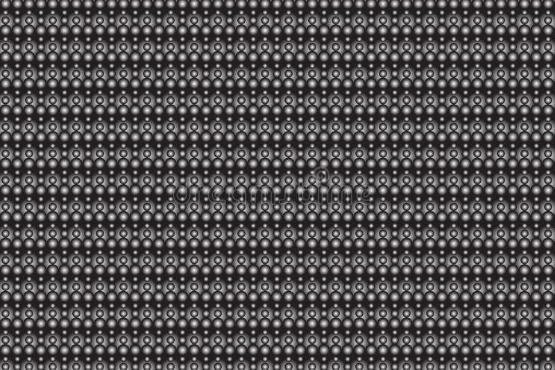 Futuristische 3 D textuur vector illustratie