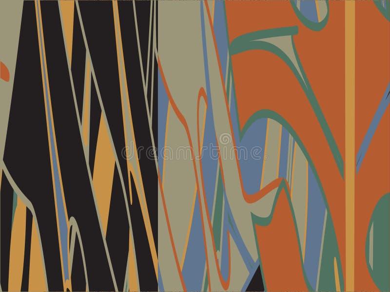 Futuristische geometrische achtergrond vector illustratie