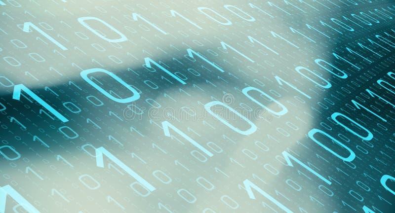 Futuristische Kommunikationskonzeption lizenzfreie stockbilder