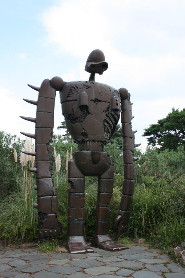 Futuristische Statue lizenzfreies stockfoto