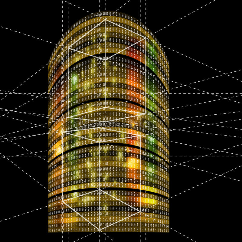 Futuristische Wolkenkratzer vektor abbildung