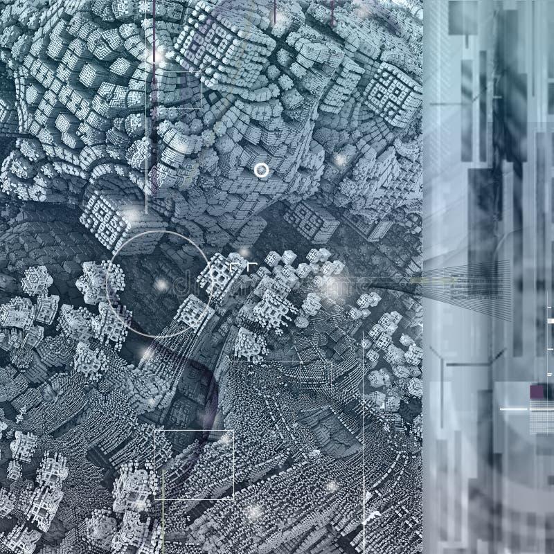 Futuristischer Strukturhintergrund vektor abbildung