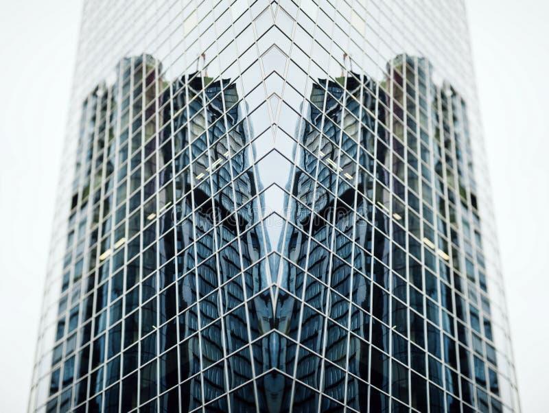 Futuristisches Gebäude lizenzfreies stockfoto