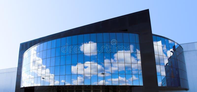 Futuristisches Geschäftszentrum lizenzfreies stockfoto