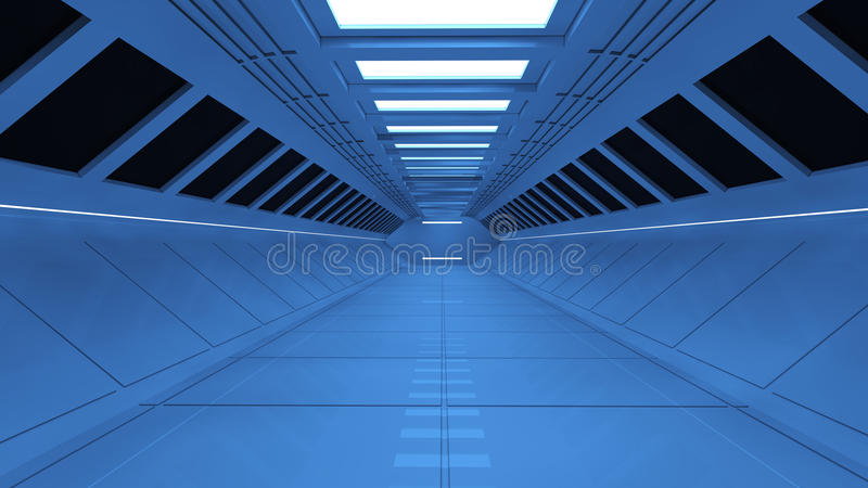 Futuristisk Arkitektur 3d Royaltyfria Bilder